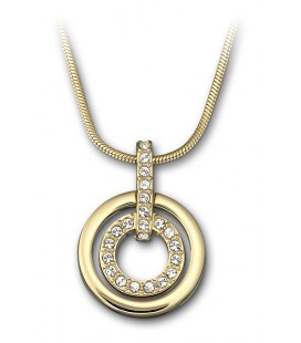 Collier doré Swarovski Circle - 1081977