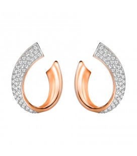 Boucles d'Oreilles Swarovski Exist small Rose Gold - 5192261