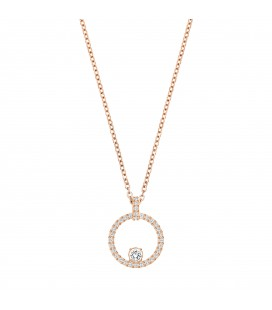 Collier Swarovski Pendentif Rose doré Creativity Circle - 5202446