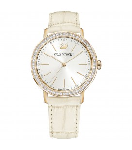 Montre Cuir Swarovski Graceful - Beige - 5261502
