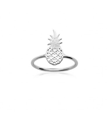 Bague Ananas - Argent 925/000