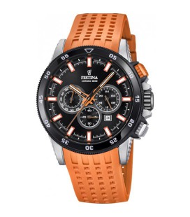 Montre Festina F20353/6 - CHRONOBIKE Bracelet Orange