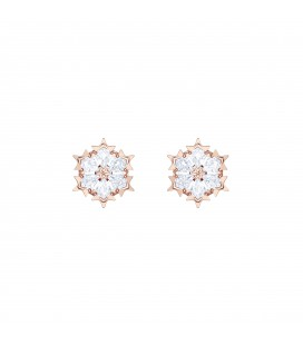 Boucles d'oreilles Swarovski Magic - Rosé Doré - 5428429