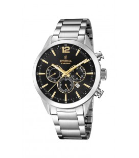 Montre Festina Homme Chrono acier - F20343/4