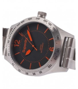 Superdry Montre Battalion Steel