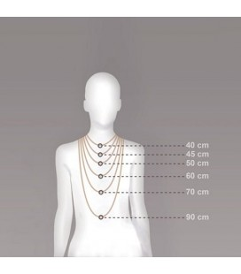 Collier guide taille
